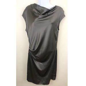 Helmut Lang | quantum silk oxide dress